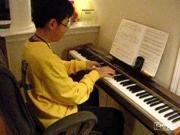 piano talent boy clever musician mario game
