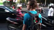คลิป วิธีข้ามถนนในโฮจิมินห์ซิตี้ ที่เวียดนาม