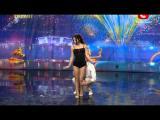 คลิป รัซเซีย ก็อตทาเลนต์ โชว์การเต้นสุดมหัศจรรย์
