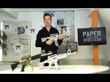 คลิป PAPER SHOOTERS ปืนกระดาษ ยิงด้วยกระสุนกระดาษ