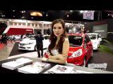 คลิป พริตตี้สาว สวยเด็ดเข็ดฟัน Bangkok International Auto Salon 2013