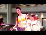 คลิป ทีเด็ด สาวเซ็กซี่ ล้างรถ Bangkok International Auto Salon 2013