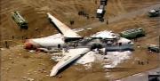 """คลิป ::--> เครื่องบินโดยสาร""""โบอิ้ง777"""" ตกขณะลงจอด (7/7/56) <--::"""