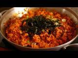 คลิป ข้าวผัดกิมจิ อาหารเกาหลีง่ายๆ ที่ใครก็ทำได้