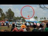 บั้งไฟแสน ตกลงกลางฝูงชน วิ่งหนีตายกันชุลมุน