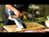 กว่าจะเก่งขนาดนี้ เสียไปกี่นิ้ว สกิลเทพของคนแร่ปลา ชาวญี่ปุ่น