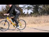 คลิป ลมแรงมาก! ปั่นจักรยานโดนลมพัด จนถอยหลัง ที่รัฐเนแบรสกา