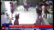 โจรปล้นธนาคารยิงการ์ดล้วง ที่ Hondurasนาย Jonathan Perdomo Medina (35)เจ้าหน้าที
