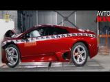 คลิปเดียวคุ้มทดสอบการชน Lamborghini, Honda อีกเยอะ