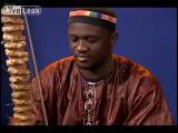 Kora harp เครื่องดลตรีพื้นเมืองชาว Mali