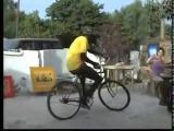 ฮาๆ ถึงไม่ใช่จักรยาน bmx แต่ก็โชว์เทพๆได้