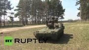 คลิป รถถังไร้คนขับ ของ กองทัพ รัสเซีย