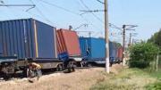 คลิป อุบัติเหตุรถไฟโดยสารชนกับรถไฟขนส่งสินค้านอกกรุงมอสโก ประเทศรัสเซีย มีผู้เสียชีวิตอย่างน้อย 5 ศพ