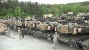 คลิป American M1 Abrams Tanks