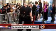 ตำรวจแอลเอจับกุมชายหนุ่มวัย 25 ปี ในข้อหาทำร้ายร่างกายแบรด พิตต์ หลังปีนข้ามรั้ว