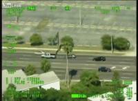เฮลิคอปเตอร์ตำรวจ ไล่ล่าคนร้ายคดีปล้น Sarasota, Florida, United States