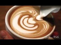 Latte Art ศิลปะบนแก้วกาแฟ ไม่นิ่งจริงทำไม่ได้