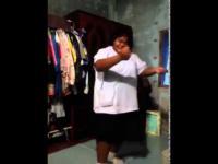 อ้วนพริ้ว โชว์เต้นเพลง บาลาด้า Balada Boa