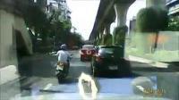 ขับรถ ถนน รถชน