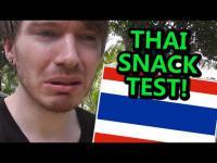 เมื่อฝรั่งลองชิมขนมทานเล่นของไทยที่มีขายใน 7-eleven!!