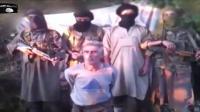 คลิป นักรบแอลจีเรีย ฆ่าตัดหัวตัวประกันชาวฝรั่งเศส