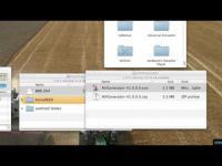 แปลงไฟล์.h264เป็นAVI mac movie vlc wine blender avigenerator