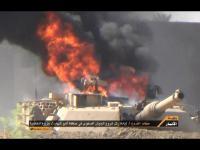 IS โจมตีขบวนคอนวอย ทหารอิรัก 1(มี M1 Abrams) ด้วย