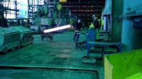 วีธีตัดเหล็กกล้า ของโรงงานเหล็กรัสเซีย