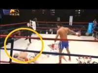 คลิป กรามแทบหัก ! ( มวยไทย vs มวยจีน )