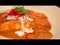 คลิป ฉู่ฉี่ปลาแซลมอน (Salmon Chuchee in red curry sauce)