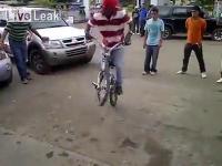 โชว์จักรยาน
