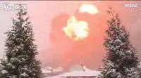 รถไฟระเบิดที่  West Virginia