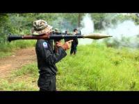 ซ้อมยิงจรวดต่อสู้รถถัง RPG 7