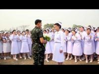 ทหารหนุ่มเซอร์ไรส์ขอแต่งงาน แฟนพยาบาลน่ารักสุดๆ