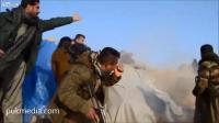 คลิป  ISIS โดนเครื่องบินทิ้งระเบิดโดย Peshmerga