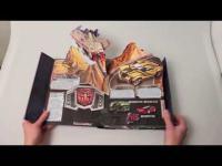 """คลิป พาไปดูหนังสือ 3 มิติสุดล้ำ จากการ์ตูนดัง """"Transformer"""" เด็กเล่นได้ ผู้ใหญ่เล่นดี(ชมคลิป)"""