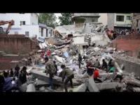 ประมวลคลิปนาที แผ่นดินไหวเนปาล 1