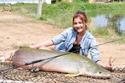 ตกปลาช่อนอะเมซอน 70 กิโล ที่ประเทศไทย by เมย์มี่