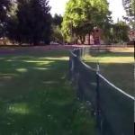 คลิป น้องหมากังฟูข้ามรั้วโดยการม้วนหน้าหนึ่งรอบถ้วน