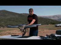 คลิป โดรนติดปืนของจริง ยิงกระจุยเละไม่เหลือซาก
