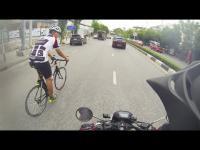 จักรยาน มอไซค์ สาวสวย ขับขี่ ดารา