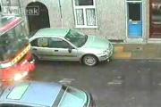 อุบัติเหตุ รถชน จอดรถ ดับเพลิง