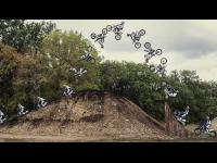 Freestyle FMX Tricks in Tom Pagès