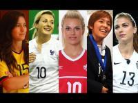 ฟุตบอล, นักบอล, กีฬา, บอล, นักฟุตบอลหญิง, สวยที่สุดในโลก, คลิปแนะนำ, คลิปยอดนิยม, 10อันดับ, top10, จ