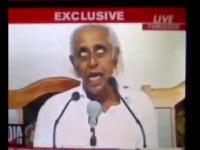สยองนักการเมืองอินเดียตายต่อหน้านักข่าวระหว่างออกอากาศ