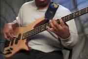คลิป Bass solo