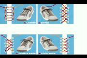 คลิป สอน ผูกเชือกรองเท้า fashion Tie Laces
