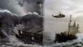 ภาพความน่ากลัว ของเรือ ท่ามกลางคลื่นยักษ์ในทะเล