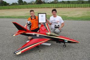 เครื่องบิน เครื่องบินบังคับวิทยุ  เร็ว ที่สุดในโลก  Fastest RC model aircraft