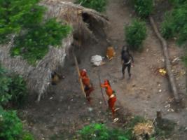 พบ คนป่า อะเมซอน